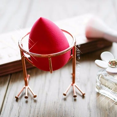 Rose Gold Makeup Brush Holders