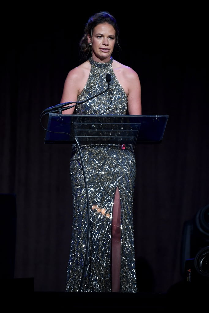 Clara Lionel Foundation Executive Director Justine Lucas at the 2019 Diamond Ball