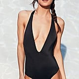 Out From Under Plunging V Solid One-Piece Swimsuit ($69)