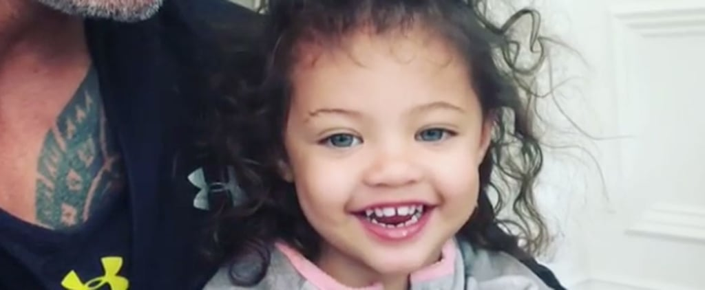 "Dwayne Johnson's 2-Year-Old Daughter Schools Him on ""Girl Power"" in an Adorable Video"