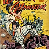 Wonder Woman While DC Comics superheroine Wonder Woman isn't gay, her feminist qualities were too much for sexist men of the '40s and '50s when she first lassoed her way onto comic-book pages. Psychiatrist Fredric Wertham said in his 1954 book Seduction of the Innocent that Wonder Woman's strength and independence meant she must be a lesbian. Source: DC Comics