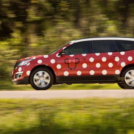 Minnie Van Vehicles at Disney World