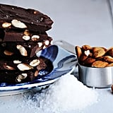 Roasted Almond and Sea Salt Chocolate Bark