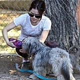 Rachel and Thurman Take a Walk on the Purple Side