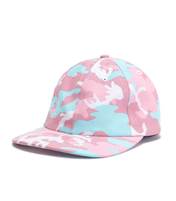 Camo Dad Hat - Candy ($22)