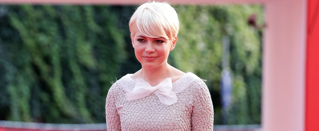 Michelle Williams Has the Secret For Making a Red Carpet Gown Look Unbelievably Edgy