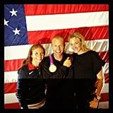 Kerri Lee Walsh and Misty May-Treanor posed with a male pal.  Source: Instagram user kerrileewalsh