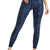 Wear It to Heart Boundless Leggings in Sapphire Disco