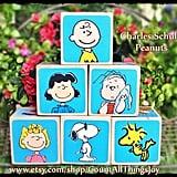 Charlie Brown Wooden Blocks