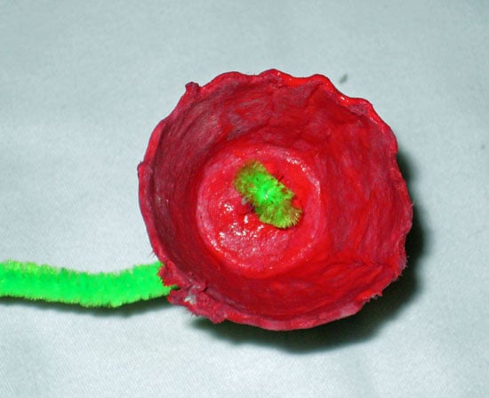Flower Before Adding the Yellow Center