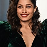 Freida Pinto at the Vanity Fair Oscars Afterparty 2020
