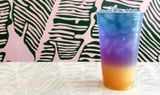 See the Blue Tea Everyone's Talking About Magically Transform This Drink Into a Rainbow
