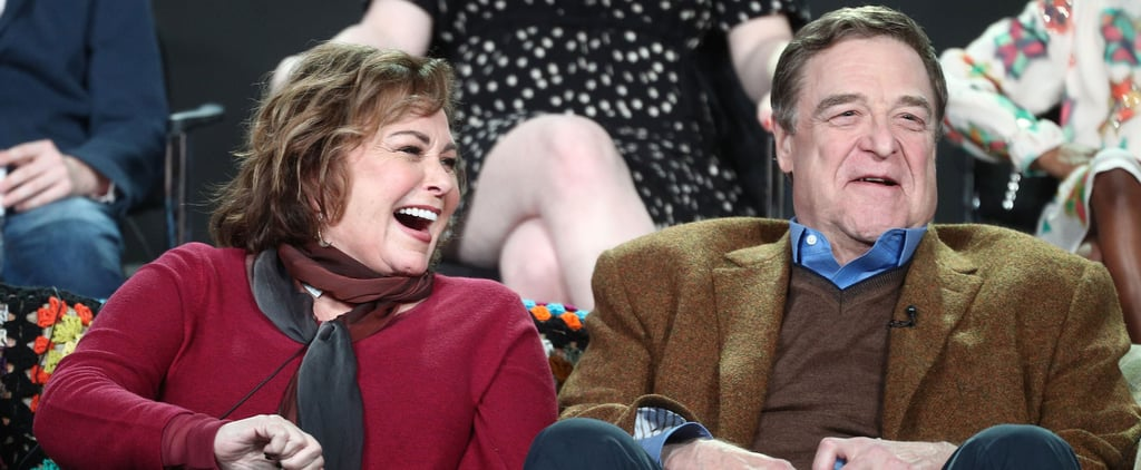 10 Photos of Roseanne and John Goodman That Show What 30 Years of Friendship Looks Like