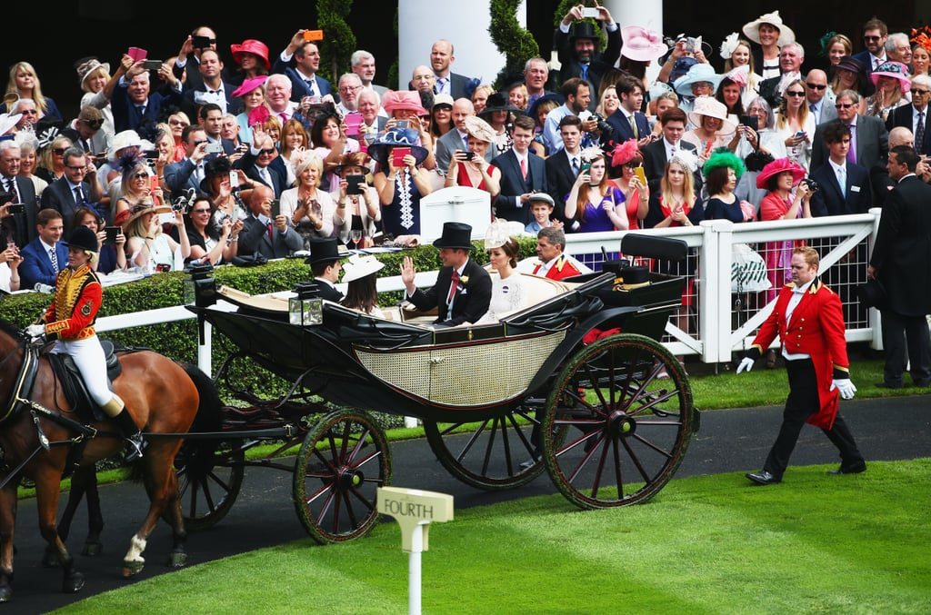 Kate Middleton at the Royal Ascot June 2016