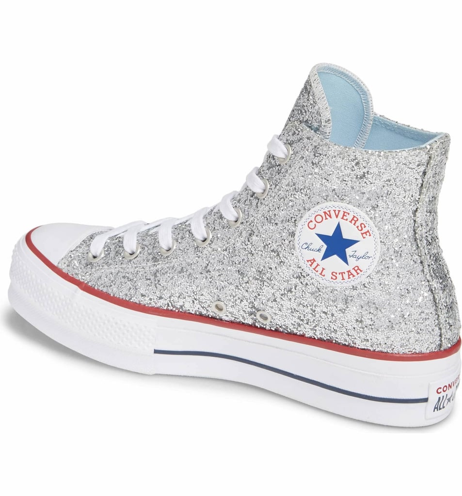 If Cinderella Saw These Glittery Converse, We Bet She'd Trade In Her Glass Slippers