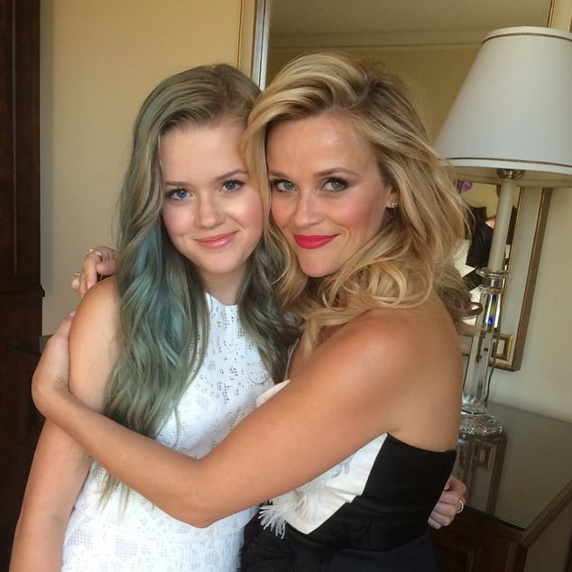 """""""Me and my girl, ready for #HotPursuit premiere! @avaphillippe"""""""
