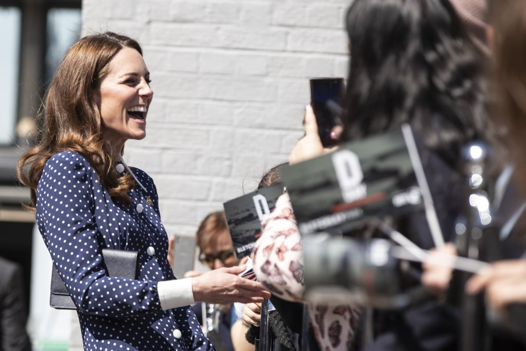 Kate Middleton Visiting England's Bletchley Park May 2019