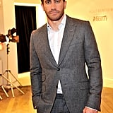 Jake Gyllenhaal showed off his new haircut at the Variety dinner honoring the actor.