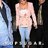 Jennifer Lopez's Pink Blazer
