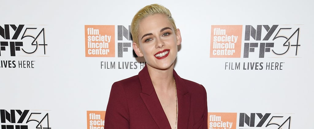 Kristen Stewart Goes Topless Underneath Her Blazer on the Red Carpet
