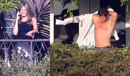 Paul Takes It Off While Jen Joins The Academy