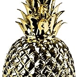 Pols Potten Gold Glazed Porcelain Pineapple ($79)