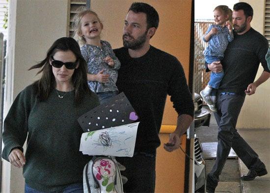 Photos of Jennifer Garner, Ben Affleck, Violet Affleck in LA