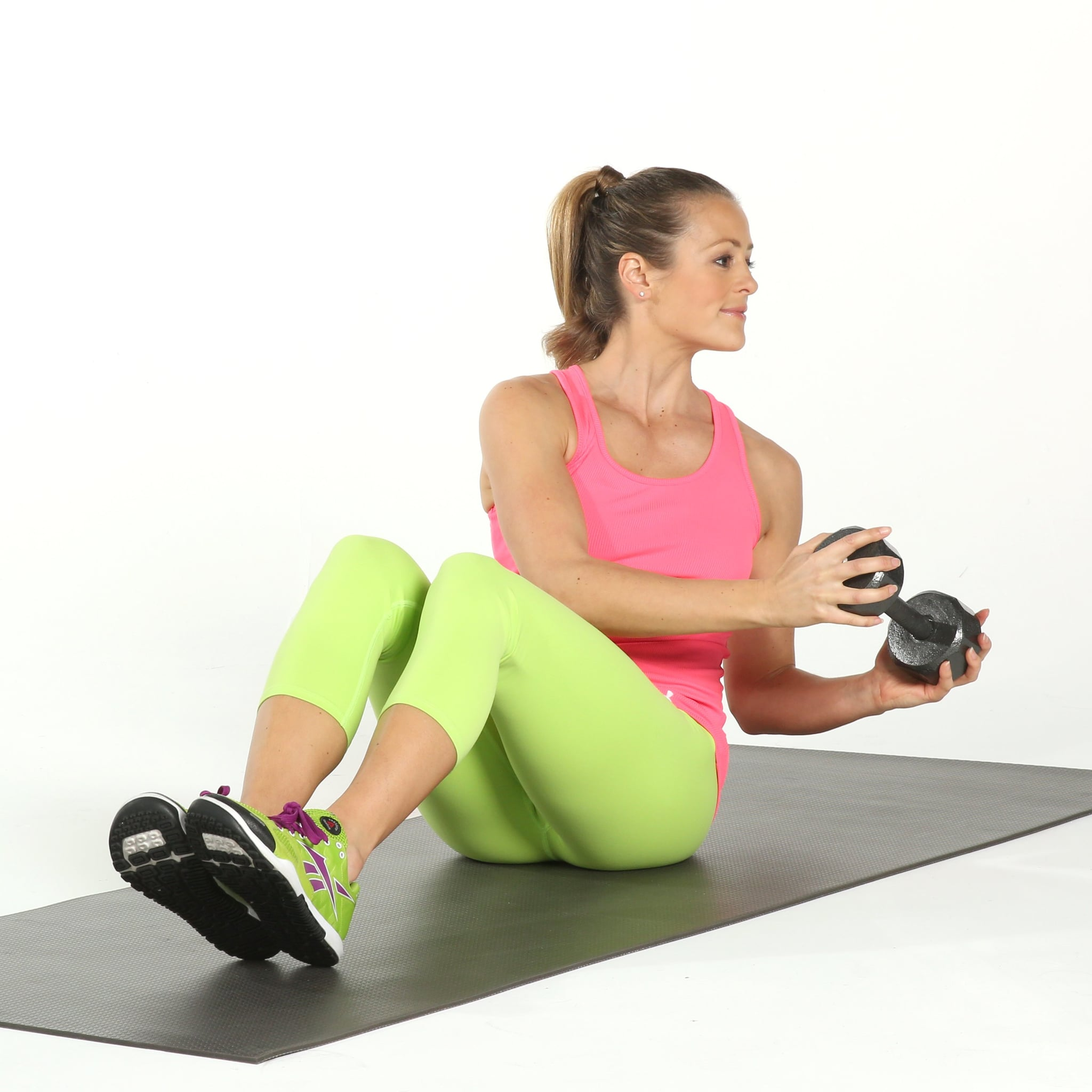 Whats Better For Your Obliques: Weighted Russian Twists Or Dumbbell Chops images