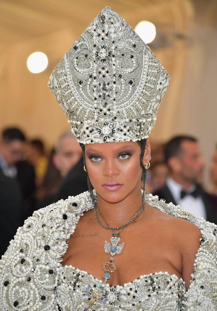 Rihanna Met Gala 2018 Makeup