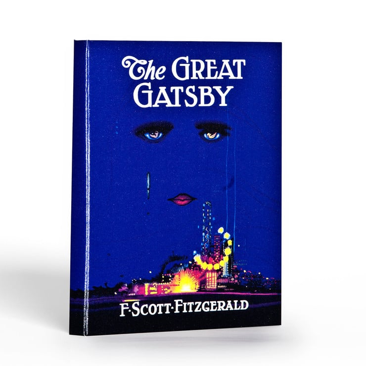Be a part of the revived Gatsby craze (thanks to the upcoming film) with The Great Gatsby iPad case ($50).