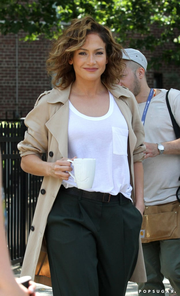 Jennifer Lopez's TV drama Shades of Blue's second season is ending with a two-hour season finale on May 21, but we will still get plenty of J Lo sightings in character and costume because she's currently filming the third season. Since before season one premiered, we knew Detective Harlee Santos was going to be stylish as heck. Previews showing her low-maintenance curly, short bob got us excited, and then the first episode aired and we realized how chill yet chic the pieces the character wears are.  It's all about loose jeans and pants, fitted blazers, simple t-shirts, and sensible shoes for this detective who chases the bad guys on the streets of New York City. Her laid-back style is totally attainable and wearable, the total opposite of the skimpy leotards and naked dresses we're used to seeing Jennifer wear in real life. Ahead, find five trends J Lo's character will inspire you to adopt. — Additional reporting by Celia Fernandez      Related:                                                                                                           This Might Be Jennifer Lopez's Most Unexpected Acting Choice to Date
