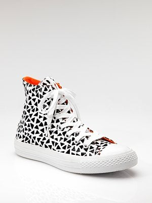 Converse Triangle-Print High-Top Marimekko Sneakers ($80)
