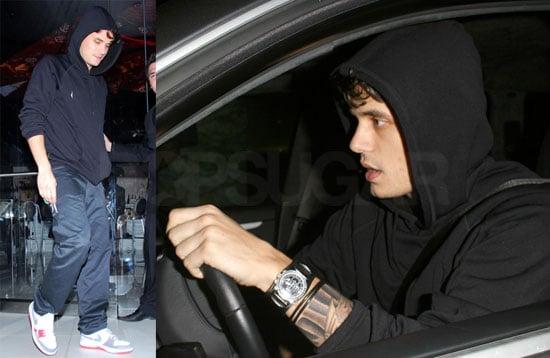 John Mayer Gets Sleeve Tattoos