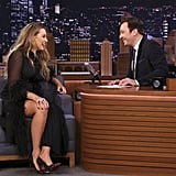 Blake Lively on The Tonight Show Starring Jimmy Fallon