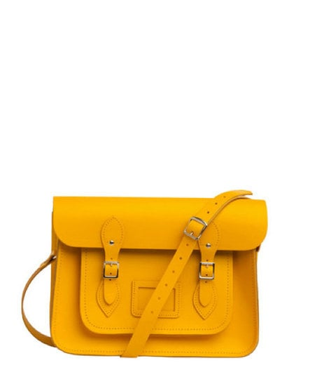 ModCloth Upwardly Mobile Satchel in Yellow ($135)