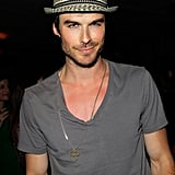 Ian Somerhalder was in attendance with his girlfriend, Nina Dobrev.