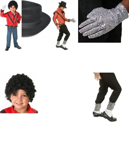 Michael Jackson Costumes for Wee Ones
