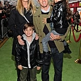In 2011, the family attended the LA premiere of The Muppets.