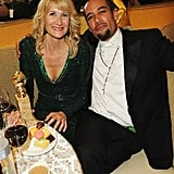 Laura Dern and Ben Harper