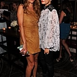 Nicole Richie and Charlotte Ronson took a picture together.