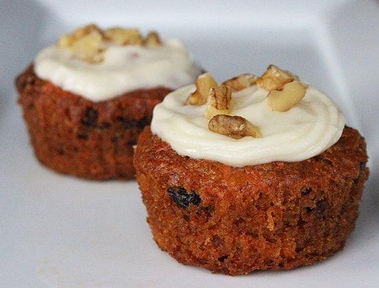 vegan carrot cake cupcakes healthy bake sale recipes popsugar