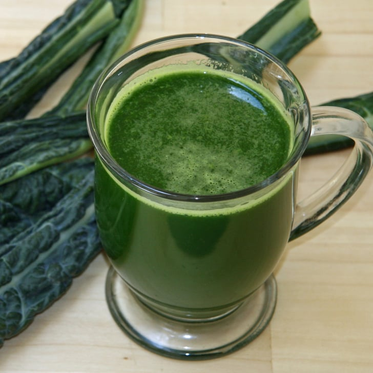 Low Sugar Green Juice For Energy Popsugar Fitness