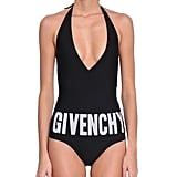 Givenchy One Piece Logo Swimsuit