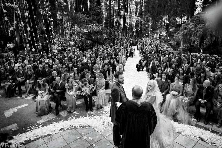 12 Themed Celebrity Weddings That Will Make You Swoon — and Scratch Your Head