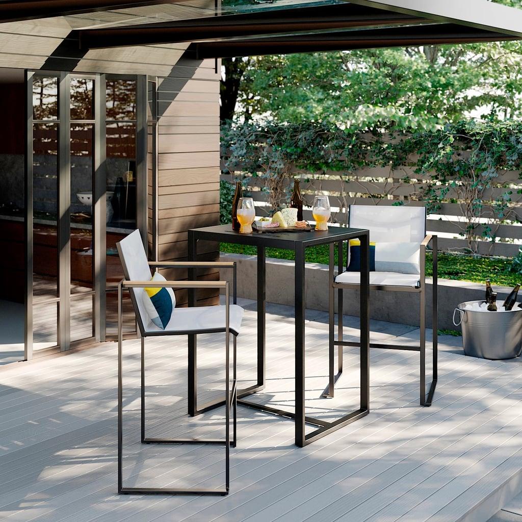 Henning 3-Piece Patio Bar Height Set