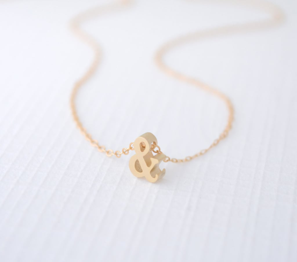Ampersand Necklace ($33-$36)
