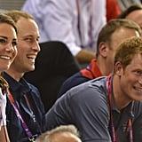 Prince Harry enjoyed himself.