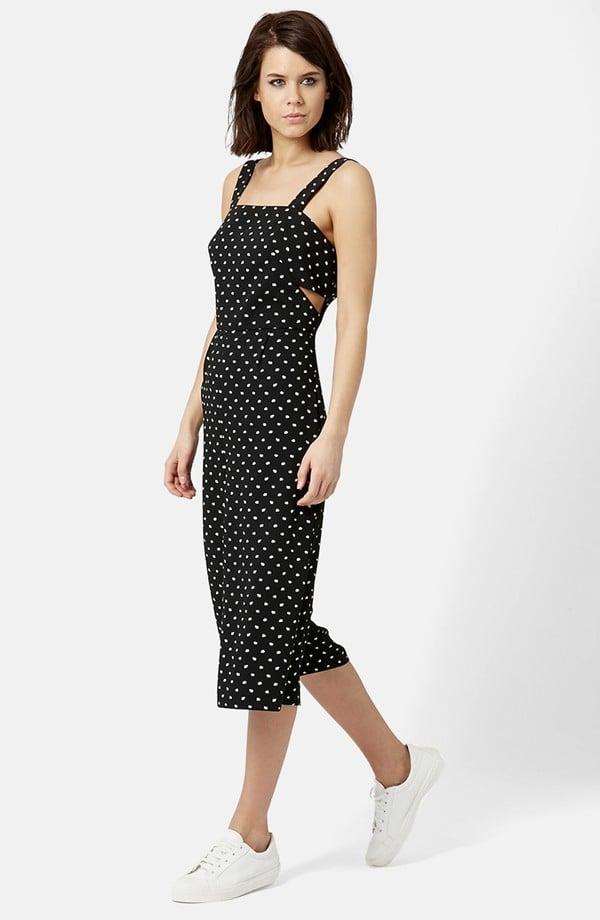 Topshop Daisy Print Jumpsuit ($110)