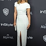 She Stole the Spotlight at the Golden Globe Afterparties . . .