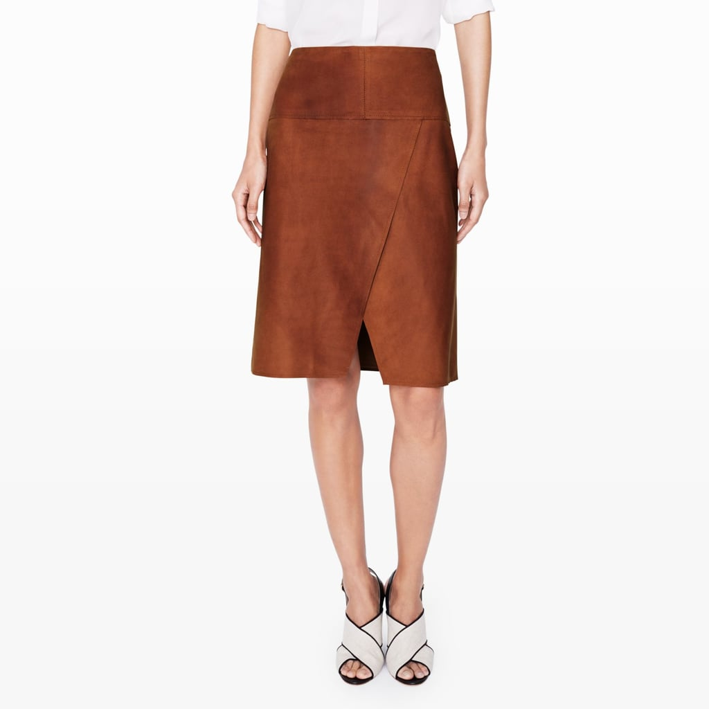 Club Monaco Tulsie Suede Skirt